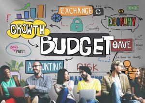 Budget Finance Business Cash Flow Concept