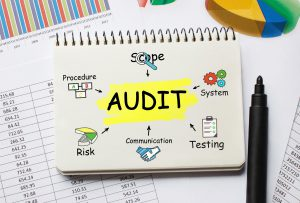 Notebook with Toolls and Notes about Audit
