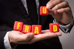 Fraud sign