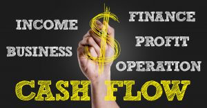 Cash Flow sign