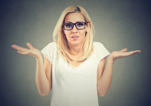 Woman confused about her accounting information